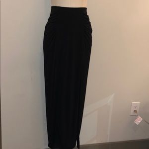 Guess double split maxi skirt
